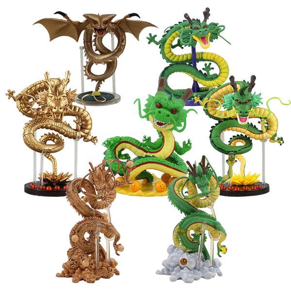 Styles 12 20cm Dragon Ball Shenron Ultimate Classic Creator X Creator Gold Shenlong Brinquedos Figure Model Collection Toy 7Styles 12-20c...