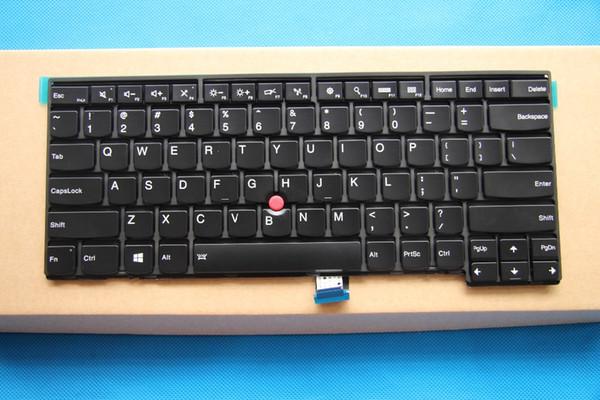 Новый Оригинальный для Lenovo ThinkPad T440 T440P T440S T431S T450 T450S T460 L400 L450 США Клавиатура с подсветкой 04X0101 04X0139