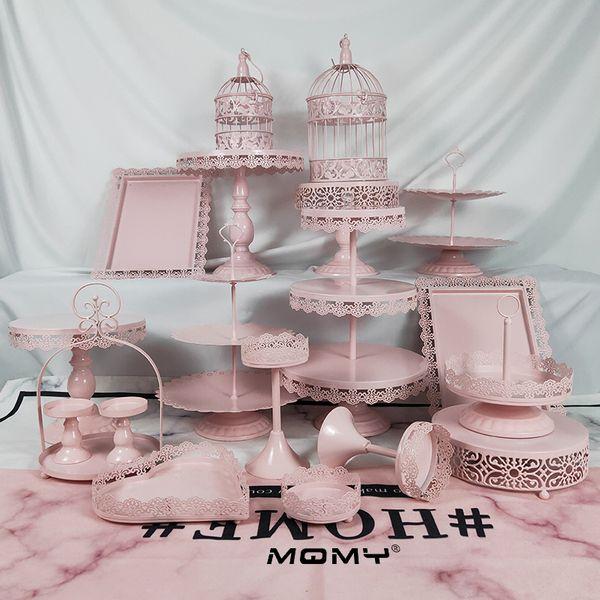Vintage metal Cupcake Stand Gâteau Dessert Holder Display Fête D/'Anniversaire Décoration