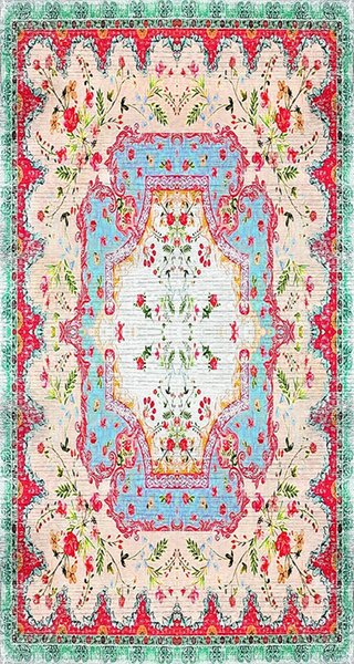best selling Allmode Printed in ALLMO Digital washable carpet MVH.214 Ship from Turkey HB-003710110