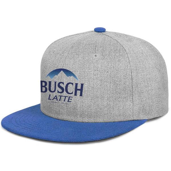 Busch Latte Beer men's Flat baseball hat stylish adjustable women's fishing cap cute Hip-hop cap mesh dance hats