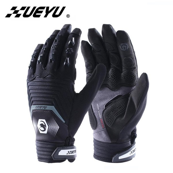 Xueyu Мотоцикл перчатка Мотокросс Off-Road Street Bike Moto Racing Перчатка Покрытие Мотоцикл езда Полный Finger Guantes Luvas