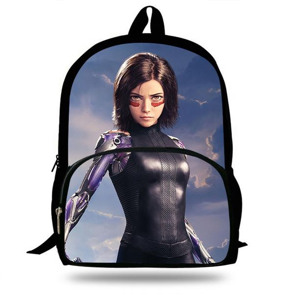 2019 Battle Angel Alita Filme Impressão sacos de escola para Adolescentes saco de viagem crianças mochilas escolares mochilas Laptop presente