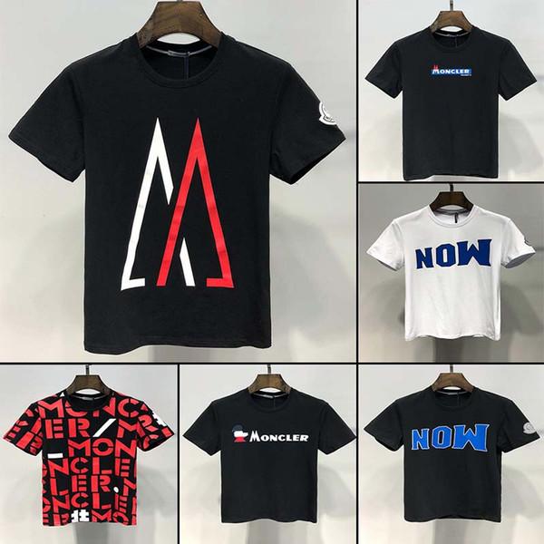 Nueva camiseta corta de verano para hombre diseñador de marca famosa para hombre camiseta de algodón de alta calidad para hombre de moda que usa camiseta fresca 1C