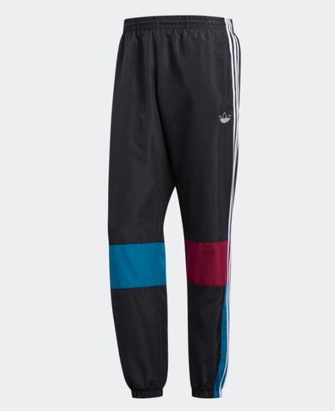 gevşek pantolon rahat pantolon ED6244imple moda atmosfer lüks kalite ko dikiş yeni spor pantolon kontrast renk