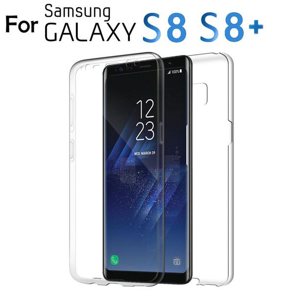 OEM per Samsung Galaxy S8 S8 Inoltre S7 bordo S6 completa protegge il caso della radura della copertura libera il trasporto