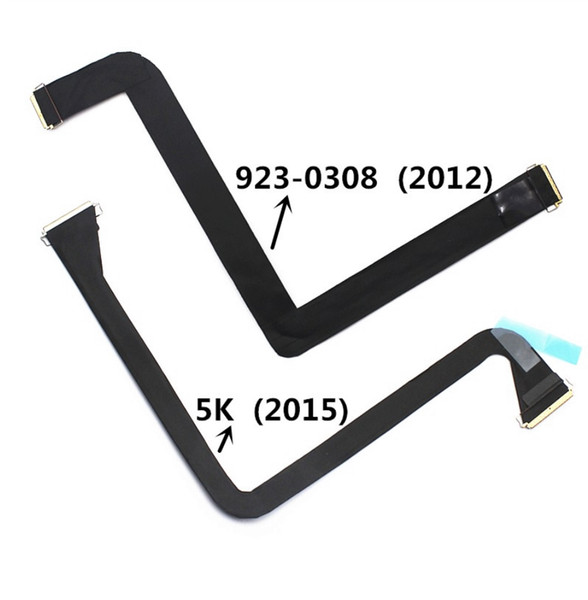 """New 923-0308 2012/ 5K 2015 LCD Display Video Cable For iMac 27"""" A1419 LCD Screen Flex Cable For iMac A1419 Display cable"""