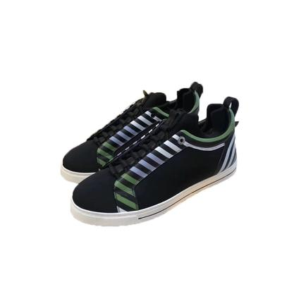 652ae368 Best Quality Mens Womens Luxury Brand Rainbow Designer Shoes Embroidery  Small Monster Genuine Leather Sneaker Casual Shoes White Black FF F Geox  Shoes ...