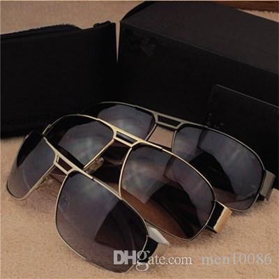Excellent Quality Brand Men's and Women's Sunglasses with Luxury origianal box jim eyeglasses classical glasses Driving Goggle Out