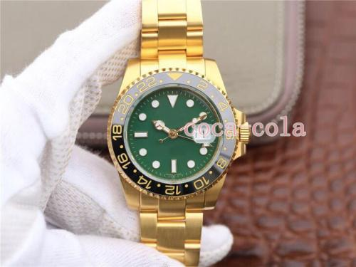 Luxury WATCH 40mm II 116718-LN-78208 green disk 18k Gold real gold Never fade SWISS ETA 2813 Movement GMT Work men luxury Honorable Watches