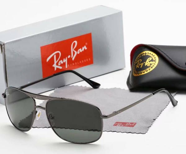 Classic Pilot Glasses Men Drive General Sunglasses Colorful Lens No Polarized