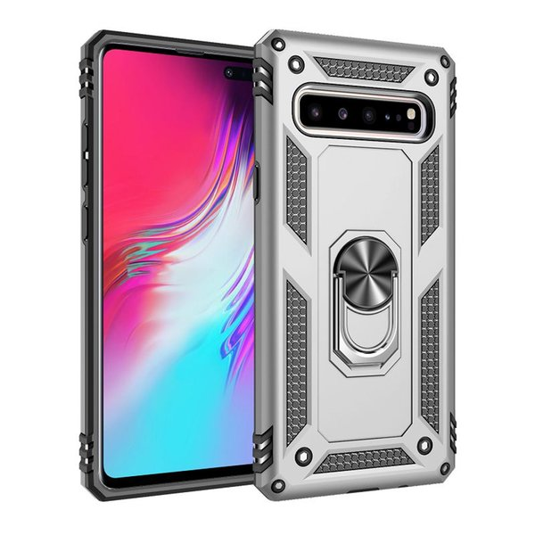 for Samsung Galaxy S10e S10 Plus case Hard Shell Military Duty Protective Cover with Holder 360/° Ring for Magnetic Car Mount