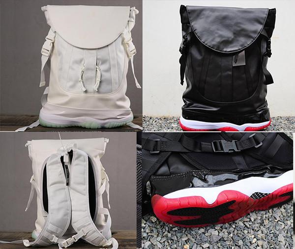 top popular NEW Jumpman OG Concord 11 backpack luxury travel bag designer man Chicago Sport Basketball backpacks shoulder bags School Outdoor bag 2019