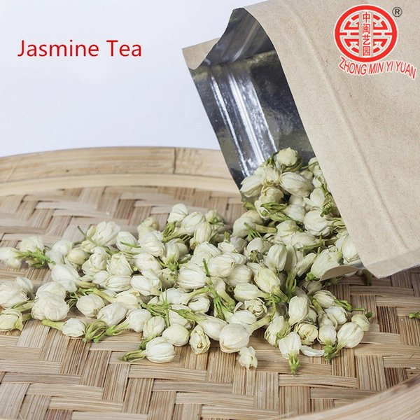 2019 new 100g natural freshest jasmine tea flower tea organic food health care weight loss natural organic tea+delivery
