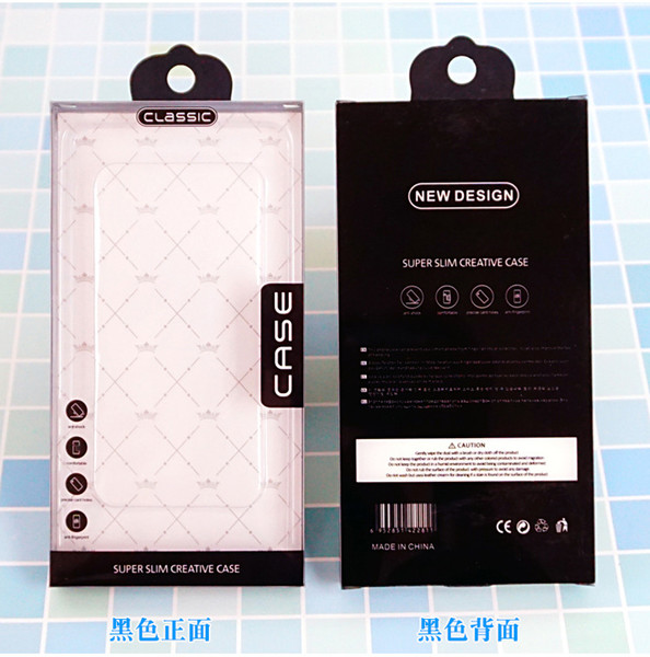 100pcs Plastic PVC Packaging Box for Samsung Galaxy S8 S9 S10 Package iPhone Xs max Xr Xs Bliister Packaging