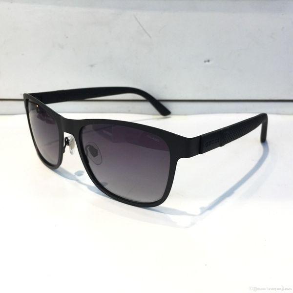 Роскошные 2247 Солнцезащитные Очки Для Мужчин Дизайн Модные Солнцезащитные Очки Квадратная Рамка Солнцезащитные Очки Покрытие Зеркало Объектива Углеродного Волокна Летний Стиль С Случае
