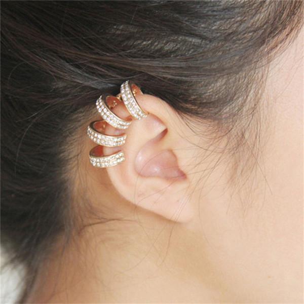 A0021 Europa e os Estados Unidos comércio exterior rede de cartazes de jóias de venda de modelos requintados clipe de ouvido (orelha direita pode usar) 7.5G