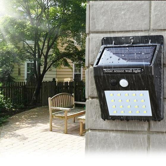 Güneş Enerjisi Ile LED Güneş işık Dış Duvar LED Solar lamba PIR Hareket Sensörü Gece Güvenlik Ampul Sokak Yard Yolu Bahçe lambası ZZA265