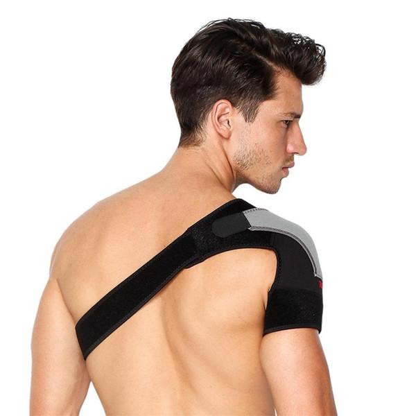 Mounchain Ayarlanabilir Sıkıştırma Omuz Wrap Askı Band Rotator Manşet Yaralanma Önleme ve Kurtarma için # 261861