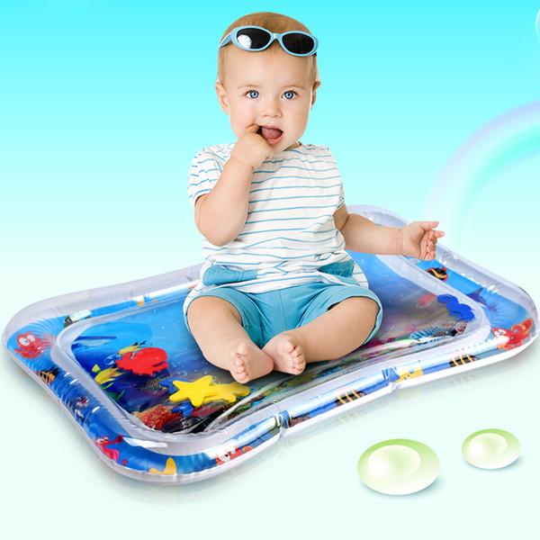 Giocare Bambino Bambini Acqua Mat gonfiabili Neonati pancia Tempo tappetino Giocattoli per i bambini Estate Nuoto in mare Pool gioco Cool Carpet giocattolo