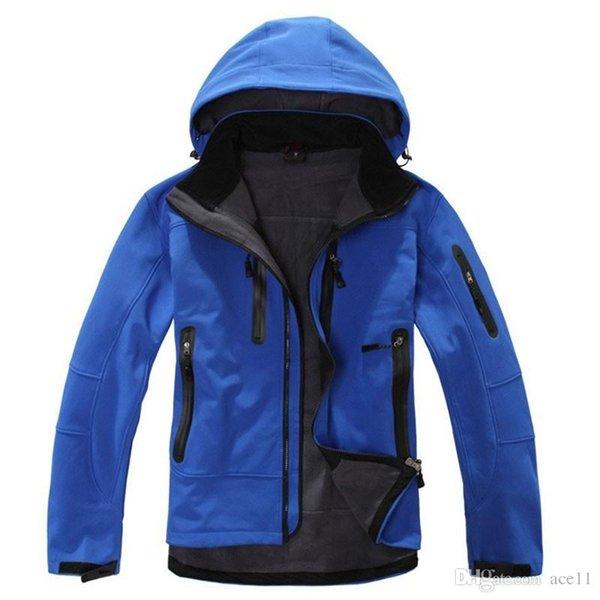 Toptan-Mamutlar Marka GTX Kabuk Su Geçirmez Termal Açık Yürüyüş Ceket Erkekler Softshell Dağcılık Kamp Kayak Giyim Ceketler