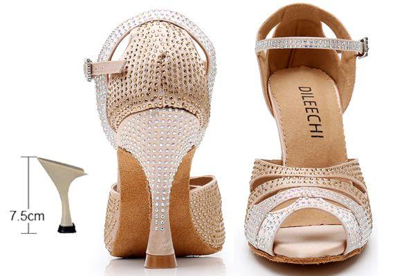 skin heel 75mm
