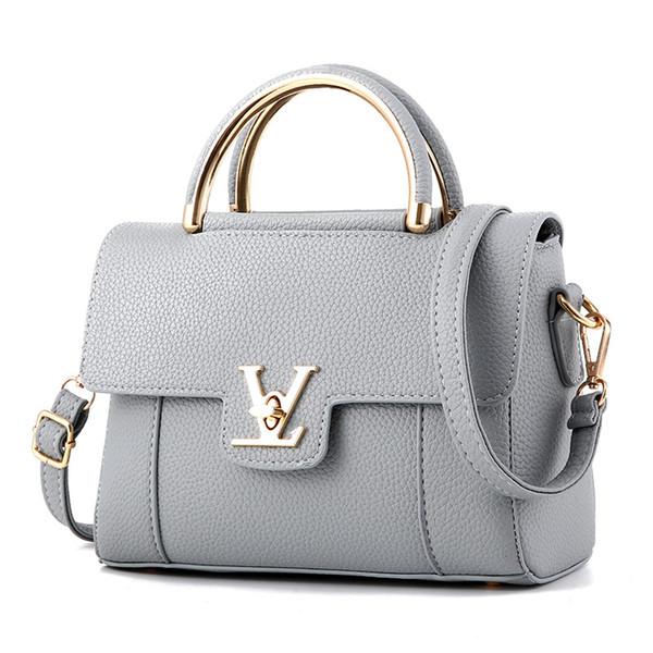 2018 Hot Flap V Women's Luxury Leather Clutch Bag Ladies Handbags Brand Women Messenger Bags Sac A Main Femme Famous Tote BagC97
