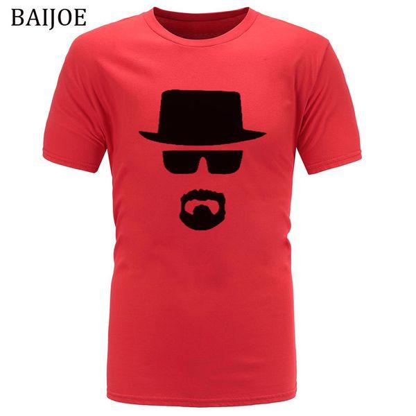2018 New Fashion Breaking Bad T Shirts Men Heisenberg Short Sleeve Cotton T-shirts Man Camisetas Hombre Cool Tee Shirt Tops