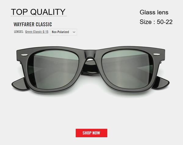 Gafas de sol de la marca modelo rd2140 para mujer hombre con gafas de sol UV400 reales lentes hombre mujer sombras Culos de sol con todos los paquetes de primera calidad