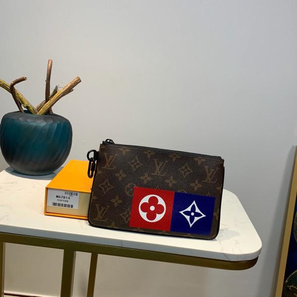 Gürtel Mode womenmen besten Damen Schulter M67814 28..19..1cm Satchel Tote-Geldbeutel Crossbody Kurier Handbagt Brieftasche neu mit Box