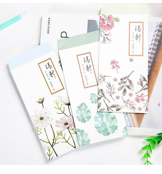 Le buste dell'acquerello della carta di busta verticale di carta della busta della lettera di amore della carta di busta verticale di stile classico cinese inviano della lettera