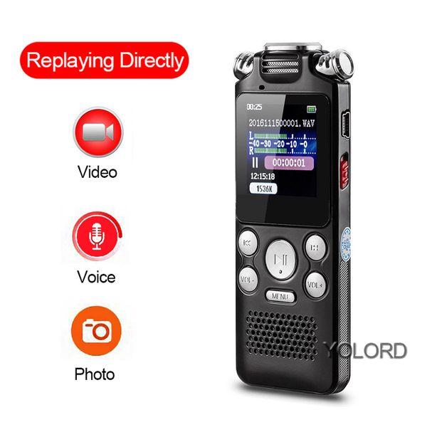 8 Go Écran couleur LCD Mini caméra 1080p Cam Vidéo Voix Enregistrement de photos Lecteur MP3 Audio Enregistreur stéréo Stylo Passeport Répétition