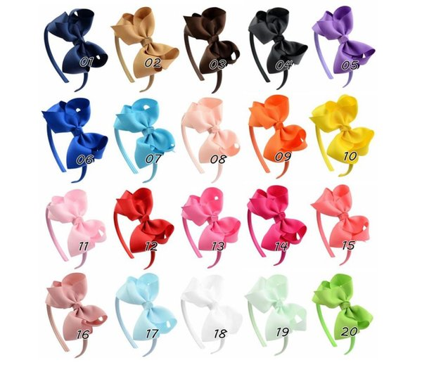 Hair Accessories For Infant Baby Lace Big Flower Bow Princess Babies Girl Hair Band Headband Baby's Head Band Kids FZP232