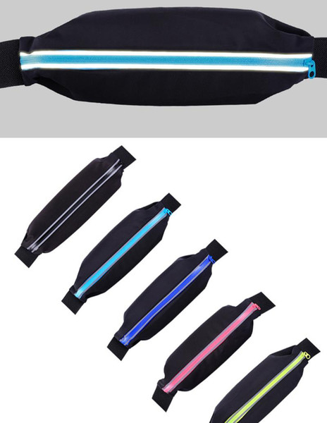 Outdoor Stretch Sports luxury designer fannypack waist bag Riding Pockets Anti-theft Waterproof Invisible Mobile Phone Bag