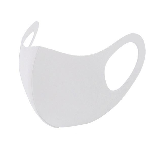 Máscara branca sem válvula (3PCSxLot)