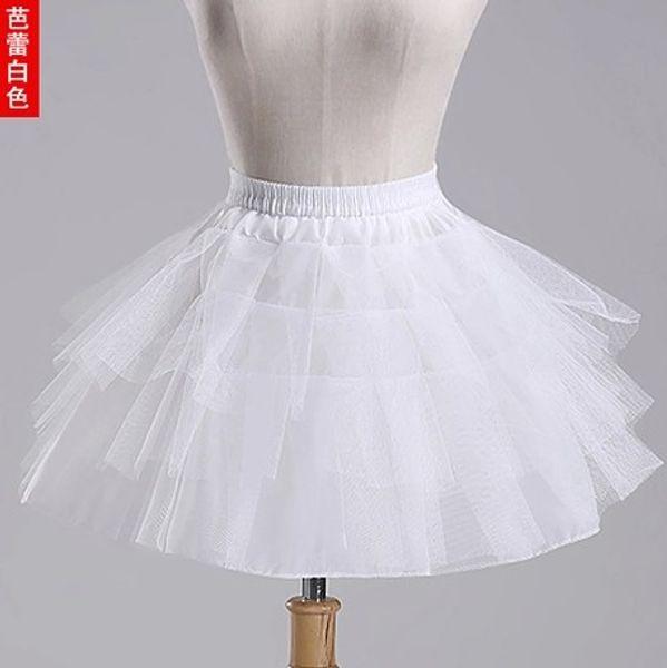 2018 новые детские юбки 3 слоя без бретелек короткое платье девушки цветка Crinoline для свадьбы маленьких девочек / детей / детей