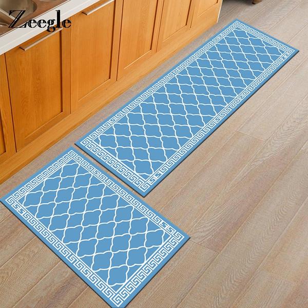 Tapis de cuisine Zeegle Tapis de salle de bain antidérapants Tapis de bain Tapis de tapis pour chambre d'enfant Tapis de table Tapis de sol Tapis de cuisine Tapis de sol