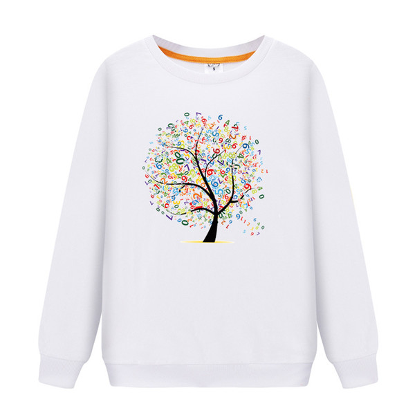 best selling 2019 Family Matching Outfits Long Sleeves Character Pattern T-Shirt Father Mother Daughter Son Sweatshirts Dad Mom Sweatshirt