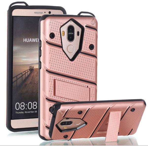 Phantom Legend Kickstand Fall Hybrid Phone Holder Protector für Samsung J3 J5 J7 pro A3 A5 A7 C9 Huawei P8 P9 P10 sowie Mate9 LG Stylo 3 V5