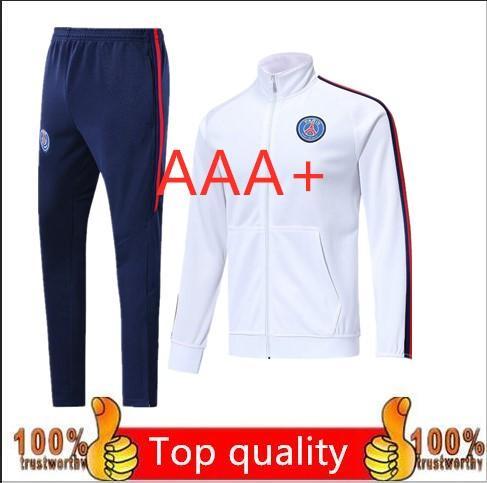 Best quality 18 19 Paris Saint Germain soccer jacket Training suit 18 19 MBAPPE LUCAS PSG maillot de foot jacket tracksuit sweatshirt set