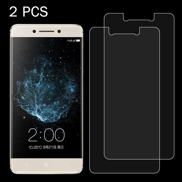 2 PCS pour LeTV Le Pro 3 0.26mm 9H surfac