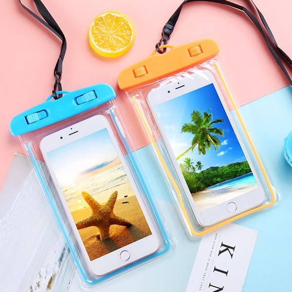 Bestsin Sealed Custodia impermeabile per cellulare Custodia per cellulare Custodie per Big Size Iphone Xs Max Samsung S9 iphone 8P 6PLUS