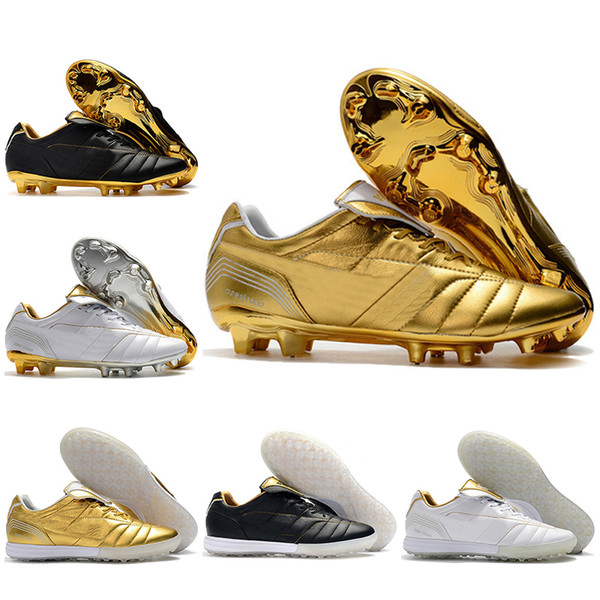 9cfd99ef585 Mens Low Ankle Football Boots Tiempo Legend 7 R10 Elite FG Soccer Shoes  Tiempo Legend VII