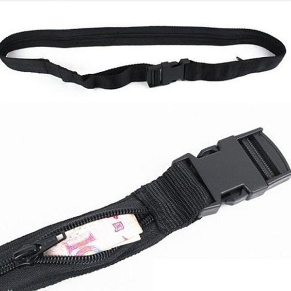 Travel Secret Waist Money Belt Hidden Security Safe Pouch Wallet Ticket Protects #31542