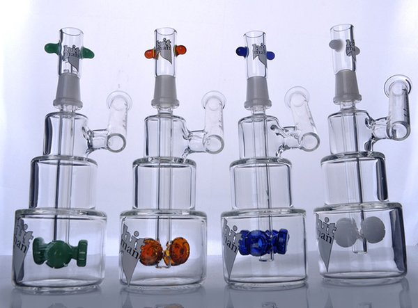 7.3 inchs Beaker Bongs Heady Oil Rigs Smoking Glass Pipes Thick Glass Water Bongs Small Dabber Glass Bubblers With 14mm Bowl