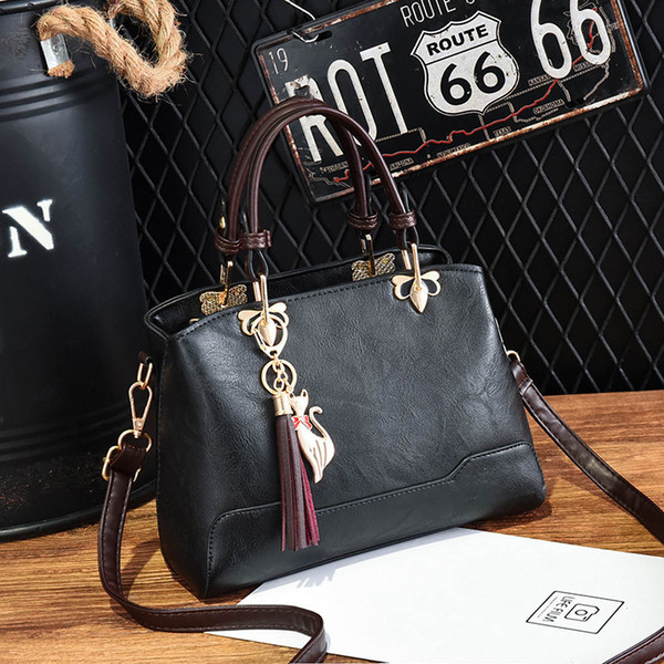 Women Bag 2019 More Color Women's Tote Pu Leather Clutch Bag Ladies Handbags Brand Women Messenger Bags Sac A Main Femme