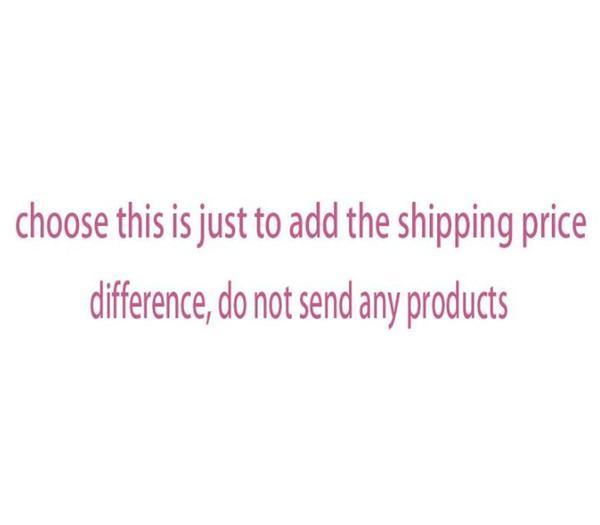 frais d'expédition, ne pas envoyer de produits
