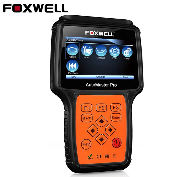 FOXWELL NT624 PRO Full System OBD2 Scanner ABS Airbag SRS SAS EPB Oil Reset ODB2 Automotive Scanner OBD 2 Car Diagnostic Tool
