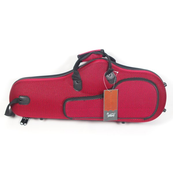 1Pcs High Grade Solid Durable Cloth Alto Saxophone Case Saxophone Box for Musical Instruments Bag Red