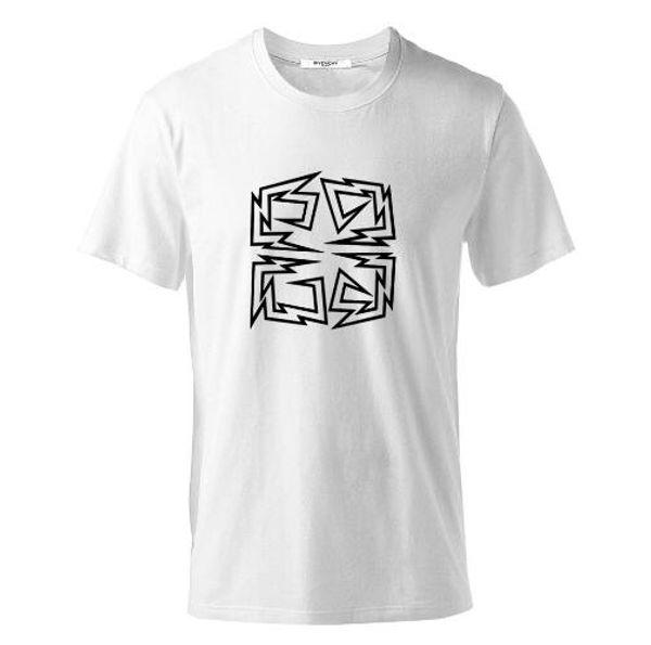 T-shirt nera bianca da basket maschile in cotone a maniche corte in allentato BBB Tshirt da uomo maglietta S-6XL